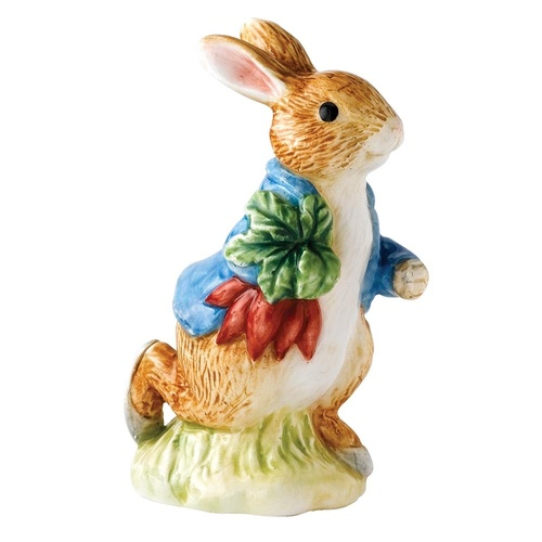 Beatrix Potter Classic Collection - Peter Rabbit Running Carrying Radishes