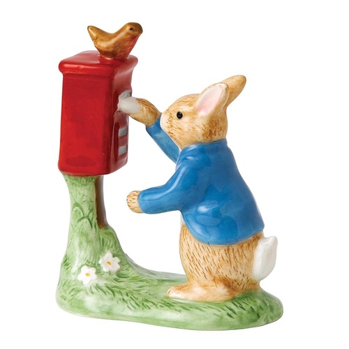 Beatrix Potter Classic Collection - Peter Posting a Letter Figurine