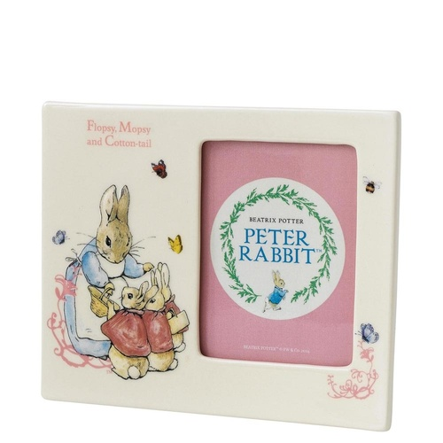 Beatrix Potter Nursery Collection - Flopsy, Mopsy & Cotton-tail Photo Frame