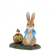 Beatrix Potter Miniature Collection - Peter Rabbit with Basket