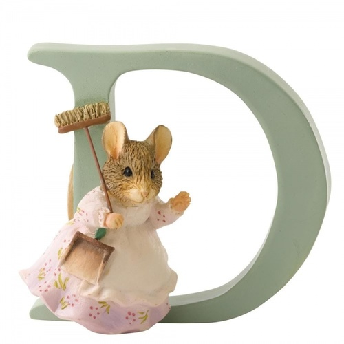 Beatrix Potter Alphabet - D - Hunca Munca Sweeping