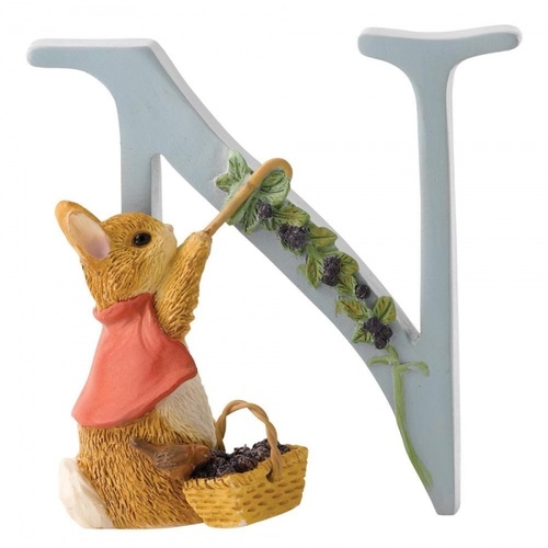 Beatrix Potter Alphabet - N - Cotton-tail
