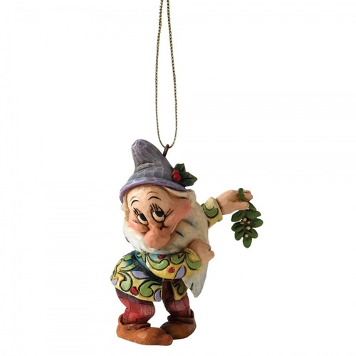 Jim Shore Disney Traditions - Snow White And The Seven Dwarfs - Bashful Hanging Ornament