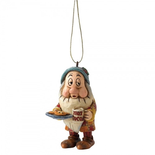 Jim Shore Disney Traditions - Snow White And The Seven Dwarfs - Sleepy Hanging Ornament