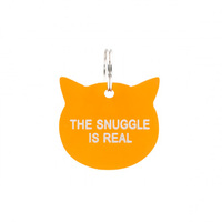 Say What? Cat Tag - The Snuggle Is Real