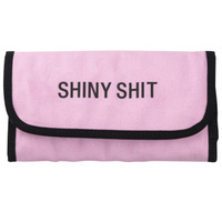 Say What? Jewellery Pouch - Shiny Shit