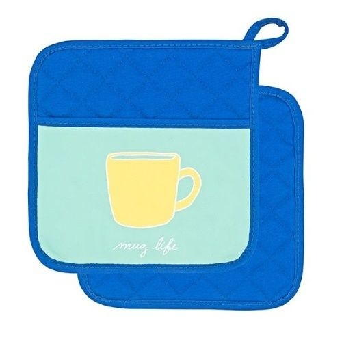 Recipease Pot Holder - Mug Life