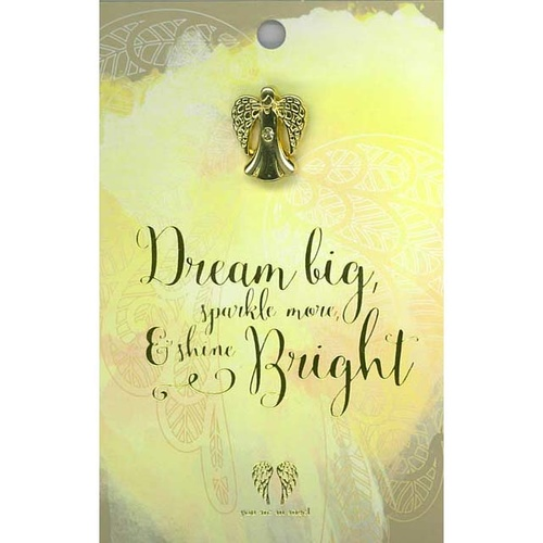 You Are An Angel Pincard - Dream Big