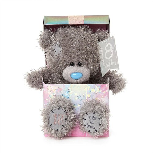 Tatty Teddy Me to You Bear - Happy 18th Birthday Bear In Box