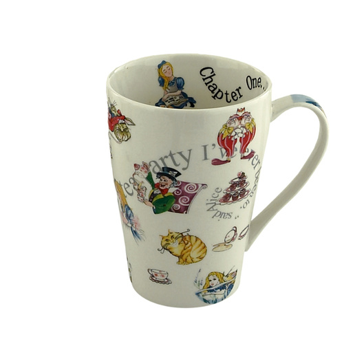 Cardew Design Alice In Wonderland Mug - Alice and Friends