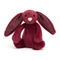 Jellycat Bashful Sparkly Cassis Bunny - Small