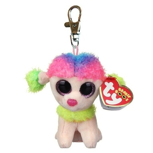 Beanie Boos - Rainbow the Mulitcolor Poodle Clip On