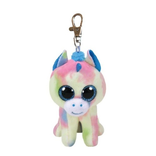 Beanie Boos - Blitz the Blue Unicorn Clip On