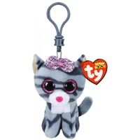 Beanie Boos - Kiki the Grey Cat Clip On