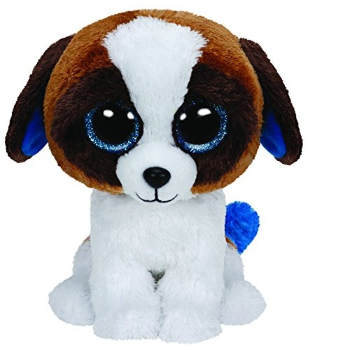 Beanie Boos - Duke the Brown White Dog Regular