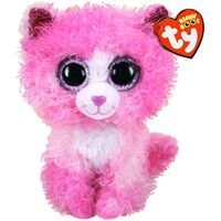 Beanie Boos - Reagan Cat with Pink Hair Regular