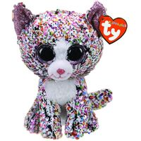 Beanie Boos Sequin Flippables - Confetti Cat Regular