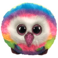 Beanie Boos Puffies - Owen the Multicolour Owl