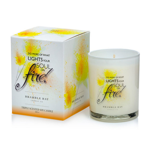 Bramble Bay Inspiration Candle - Soul on Fire
