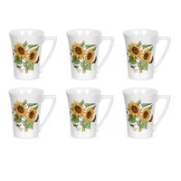 Portmeirion Botanic Garden Mug - Sunflower (Set of 6)