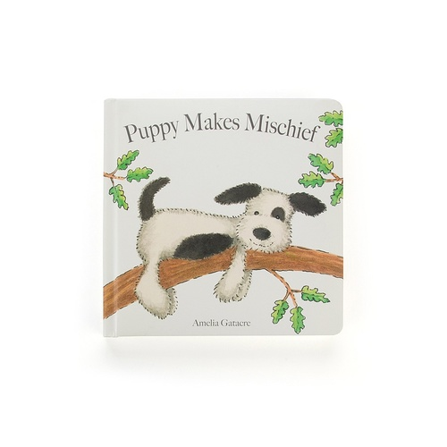 Jellycat Storybook - Puppy Makes Mischief