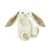 Jellycat Bunny - Bashful Blossom Cream - Medium