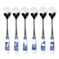 Spode Blue Italian - Teaspoon (Set of 6)