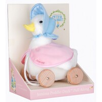 Beatrix Potter Peter Rabbit - Pull Along Toy Jemima Puddle Duck
