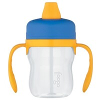 Thermos Foogo Tritan Plastic Soft Spout Sippy Cup with Handles 235ml Blue