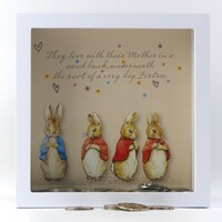 Beatrix Potter Peter Rabbit Money Bank - Firtree