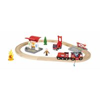 BRIO World Vehicle - Firefighter Set