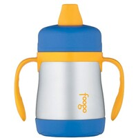 Thermos Foogo Soft Spout Sippy Cup 210ml Blue