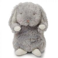 Bunnies By The Bay Plush - Wee Grady Bunny Grey