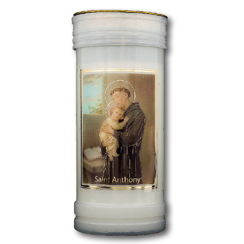 Devotional Candle - Saint Anthony