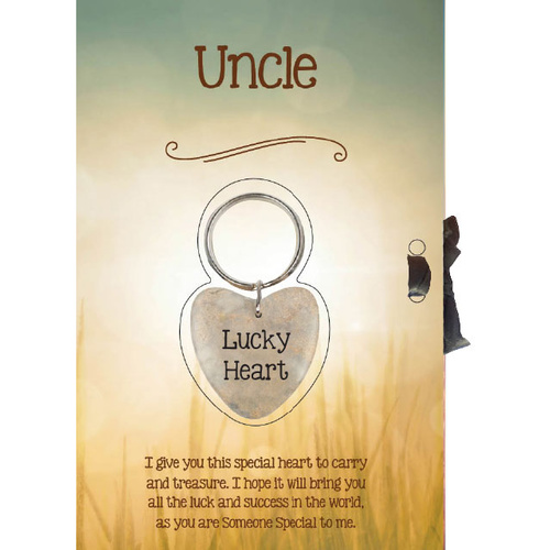 Lucky Heart Card - Uncle