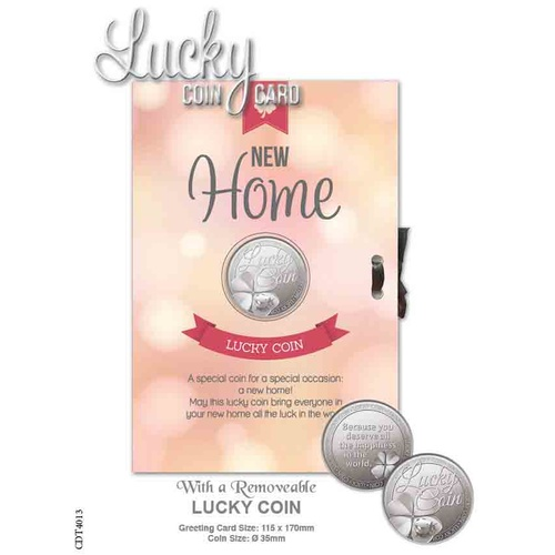 Lucky Coin Card - New Home