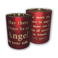 Religious Gifting Christmas Candle Holder - Always Be An Angel