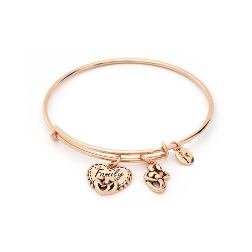 Chrysalis Thinking Of You Collection - Family Expandable Bangle Rose Gold