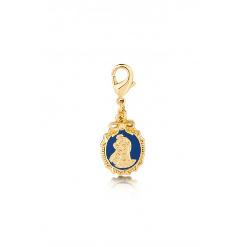 Disney Couture Kingdom - Beauty And The Beast - Belle Necklace Charm Yellow Gold