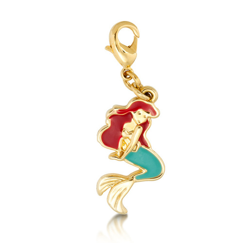 Disney Couture Kingdom - The Little Mermaid - Ariel Bracelet Charm Yellow Gold