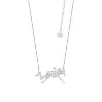 Disney Couture Kingdom - Frozen 2 - Nokk and Gang Necklace White Gold