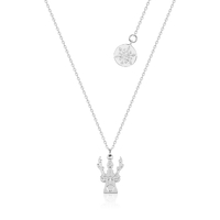 Disney Couture Kingdom Junior - Frozen 2 - Olaf and Sven Necklace White Gold