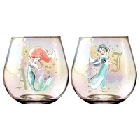 Disney - Princess Globe Glasses Set of 2
