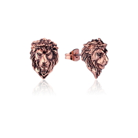 Disney Couture Kingdom - The Lion King - Adult Simba Stud Earrings Rose Gold