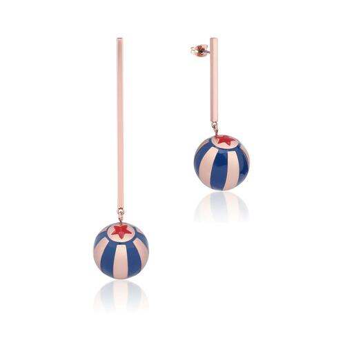 Disney Couture Kingdom - Dumbo - Circus Ball Drop Earrings Rose Gold