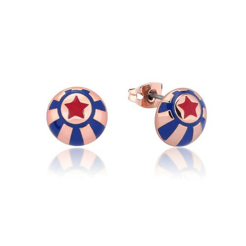 Disney Couture Kingdom - Dumbo - Circus Ball Stud Earrings Rose Gold