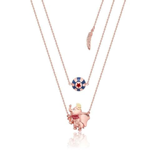 Disney Couture Kingdom - Dumbo - Circus Ball Necklace Rose Gold