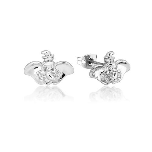 Disney Couture Kingdom - Dumbo - Stud Earrings White Gold