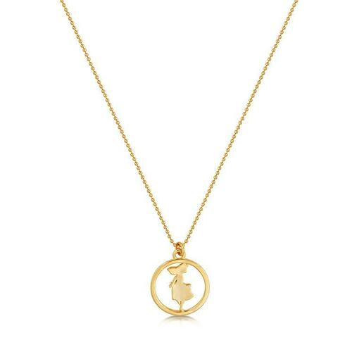 Disney Couture Kingdom - Alice in Wonderland - Signature Necklace Yellow Gold