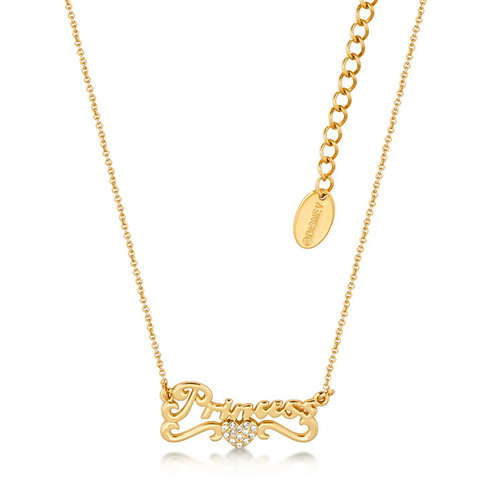 Disney Couture Kingdom - Princess Necklace Yellow Gold